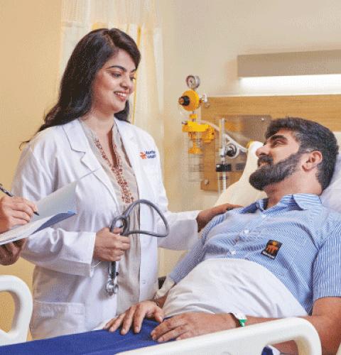 liver patient getting treatment in Delhi
