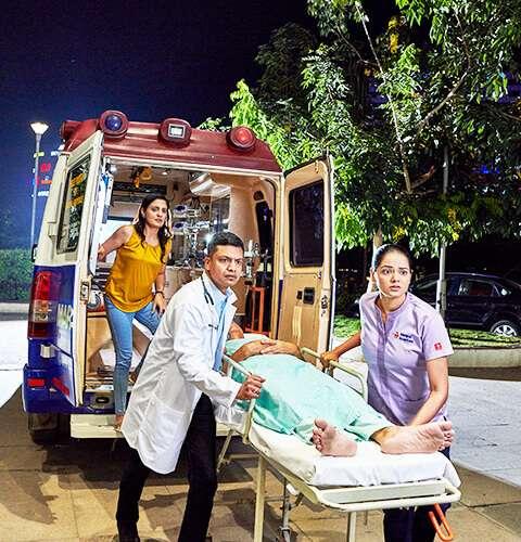 ICU, Emergency Ambulance Services in Vijayawada