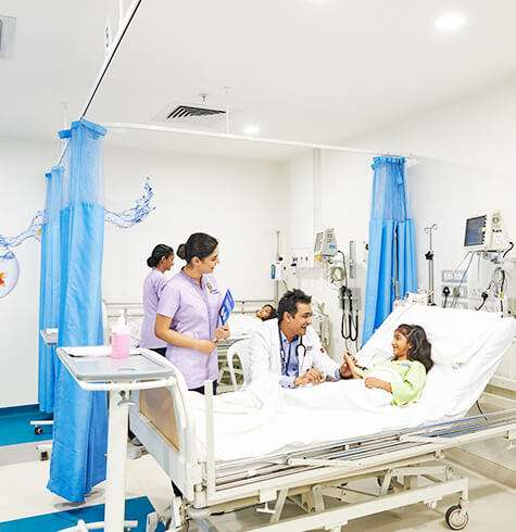 ICU, Accident and Emergency Care in Vijayawada