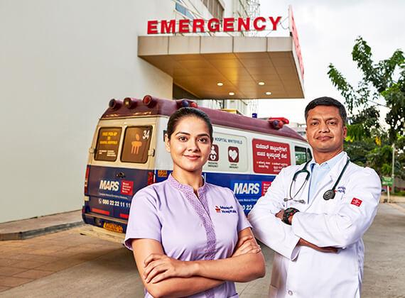 Emergency Hospital in Whitefield, Bangalore